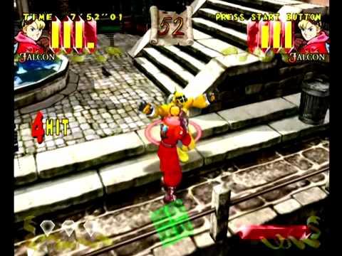 Power Stone (Dreamcast) Arcade as Falcon