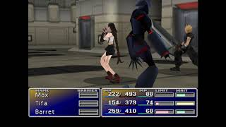 Final Fantasy VII Steam PC Gameplay/ Playthrough Pt3. Shinra building