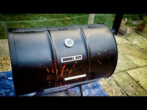 Barrel Boy Barbecue - How to build an Oil Drum Barrel BBQ