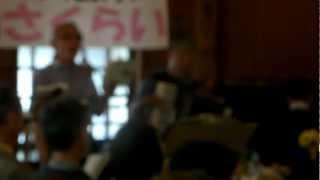 奈良県桜井市で行われている「歌声喫茶People's in さくらい」。2012年7...