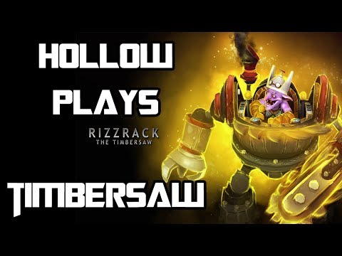Dota 2: Timbersaw Ranked Full Game Commentary