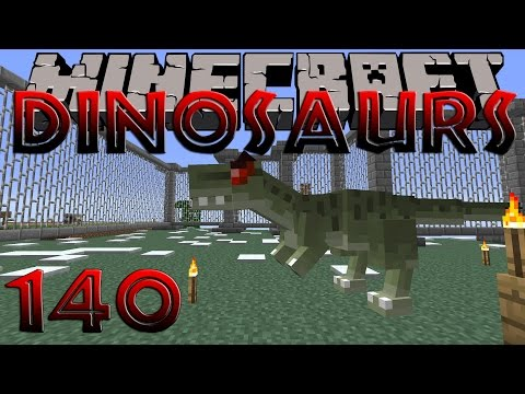 Minecraft Dinosaurs - Part 140 - Ancient Snake Fossils and Cherry!
