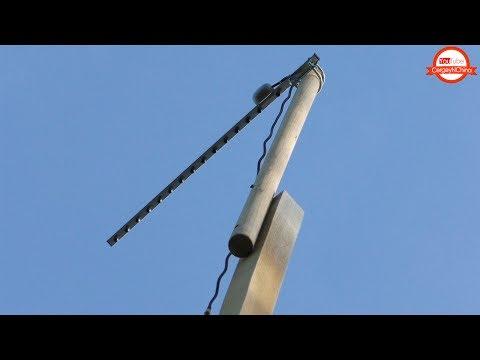 Тестируем Китайскую Yagi антенну для дачи!