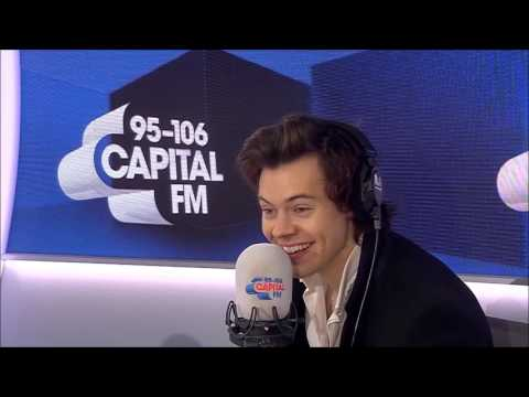 Harry Styles Interview Made Roman's Dinner (Capital FM)