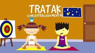 🕉 TRATAK, CONCENTRACIÓN MENTAL | MiniPadmini (Yoga para niños y niñas)