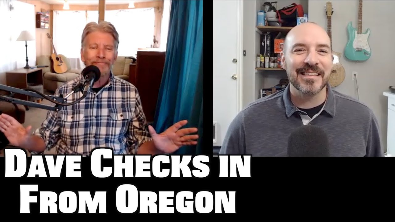 Dave Checks in from Oregon ... And His Impressions of Portland.