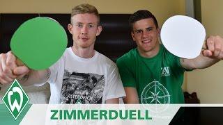 Zimmerduell: Florian Kainz & Michael Zetterer | SV Werder Bremen