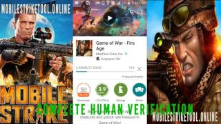 mobile strike hack mobile strike how to get free xp gold and vip