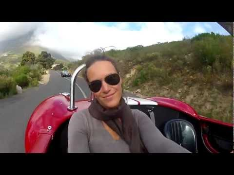 VBlogMag #9 - A beautiful woman - an AC Cobra - touring Cape Town