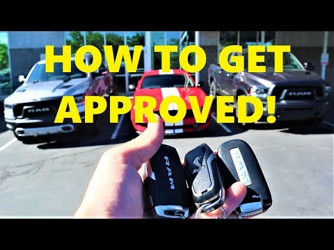 How To Get A Car Loan With Bad Credit Or No Credit!