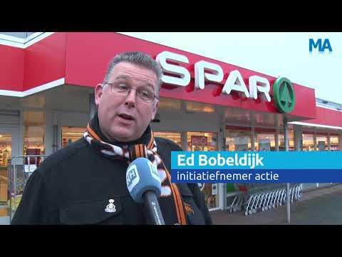 Reportage Midwouders in actie voor gedupeerde supermarkteigenaren