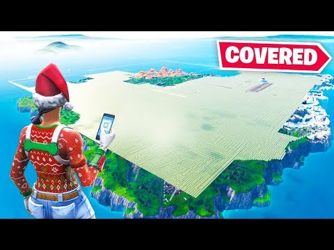 We Covered THE ENTIRE MAP (servers crashed)