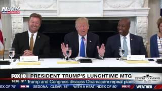 "WATCH: President Trump To Senator: ""You Want To Remain A Senator Don"