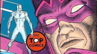 Los mejores cómics: Silver Surfer: Parable por Stan Lee