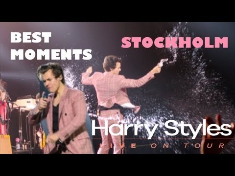 HARRY STYLES HIGHLIGHTS FROM THE STOCKHOLM SHOW 2018