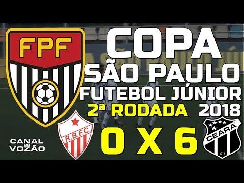 [Copa SP '18] 2ª Rodada   Rio Branco FC/AC 0 X 6 Ceará SC   Narr.: Paulo Sodate   Canal do Vozão