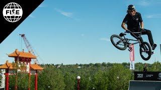 Dennis Enarson 3rd Place - UCI BMX Freestyle Park World Cup Final   FISE Edmonton 2018