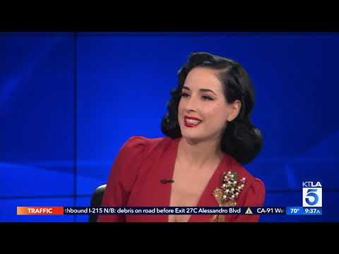 The Queen of Burlesque Dita Von Teese on the Skills of Seduction