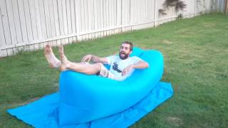★★★★★ Akface™Inflatable Lounger Couch Chair - Amazon