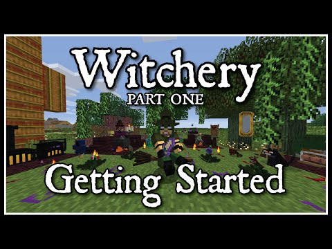 Witchery: Getting Started Part 1 Witches oven, Cauldron, and the base plantsingredients