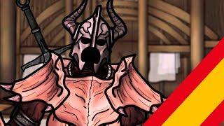 The Senile Scribbles : Skyrim Parody Parte 7 (Doblaje-Castellano)