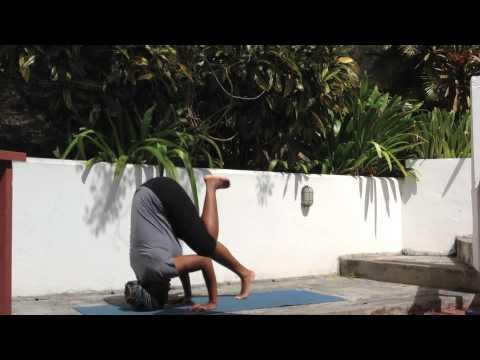 yoga tripod headstand for beginners  youtube