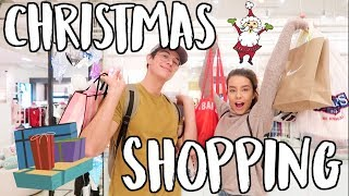 CHRISTMAS SHOPPING! VLOGMAS DAY 15!