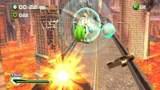 Sonic Generations (PC) Rival Silver GamePlay / Scourge MOD