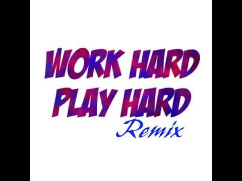 David Guetta - work hard  ( instrumental remix )
