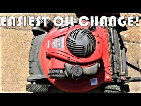 Easy Oil Change - Briggs and Stratton 550EX - Troy Bilt, Craftsman, Snapper