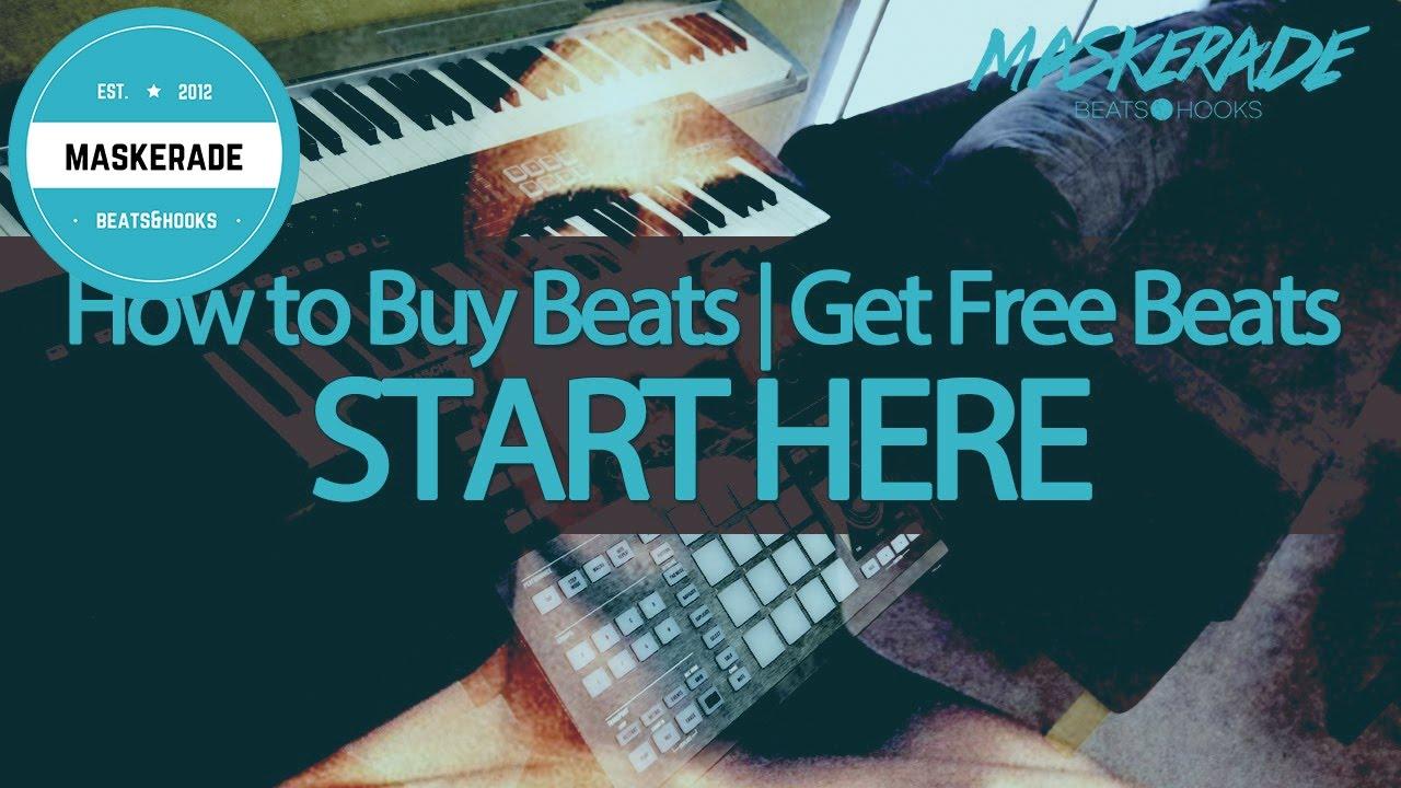 How to Buy Beats | Get Free Beats | Maskerade Beats & Hooks