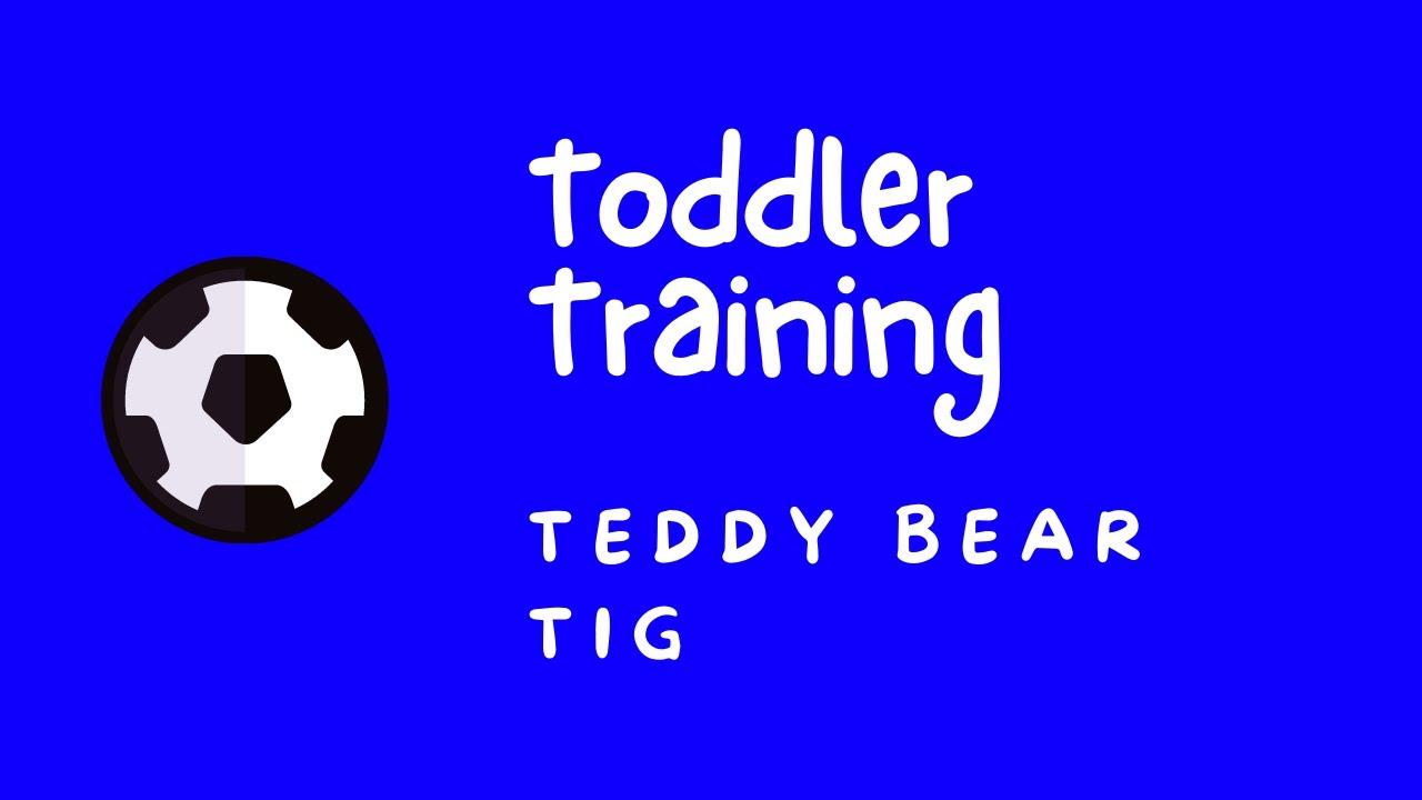 Toddler Football Training - Teddy Bear Tig