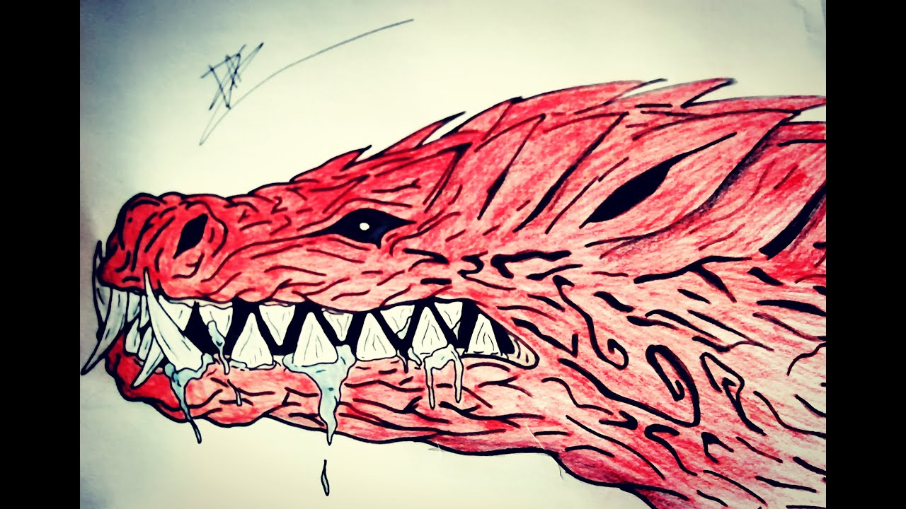 Monster Hunter Dessin Odogaron Version Facile Tete Youtube