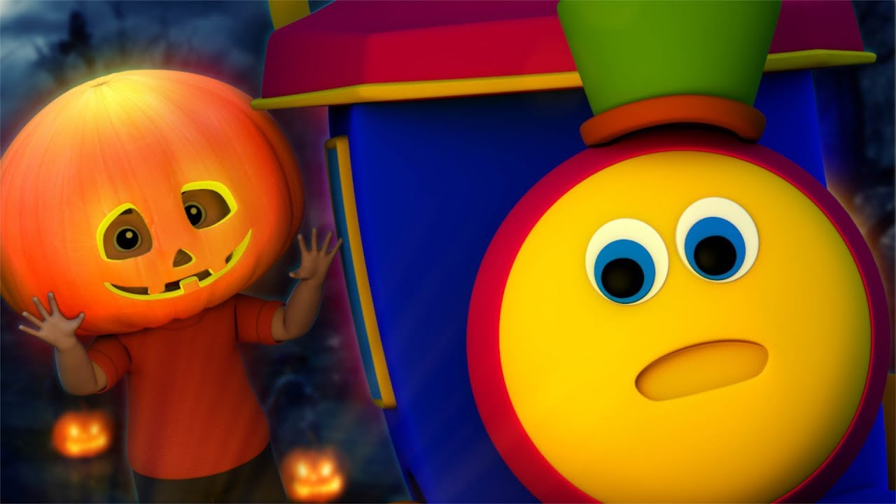 pumpkin | bob the train | halloween videos | kindergarten nursery