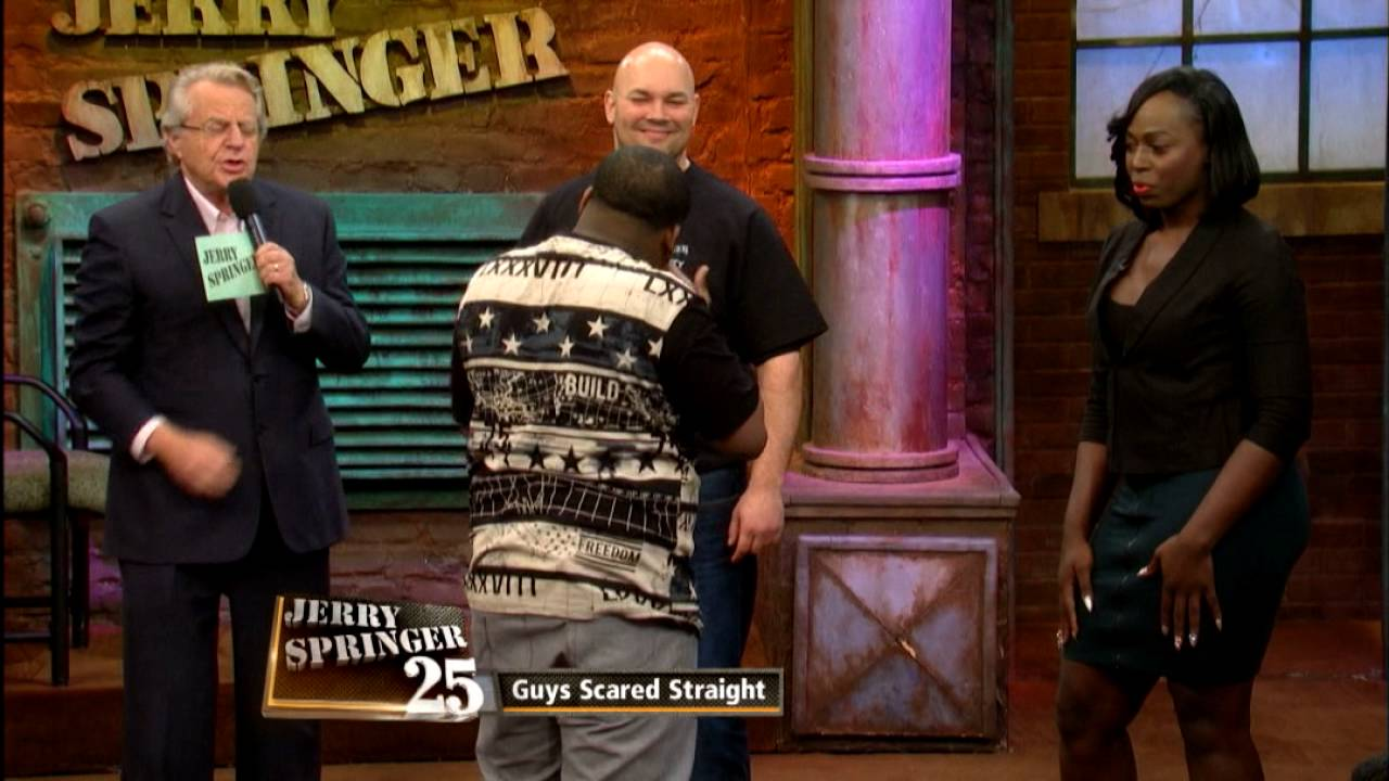 All clear, Naked bitches on jerry springer