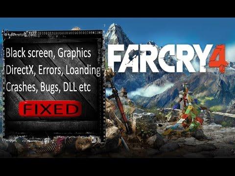 Far Cry Black Screen Error FixAll BugsBlack Map Fixed - Far cry 4 world map blank