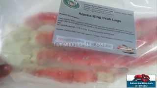 Chân cua hoàng đế Alaska - Alaska King Crab Legs