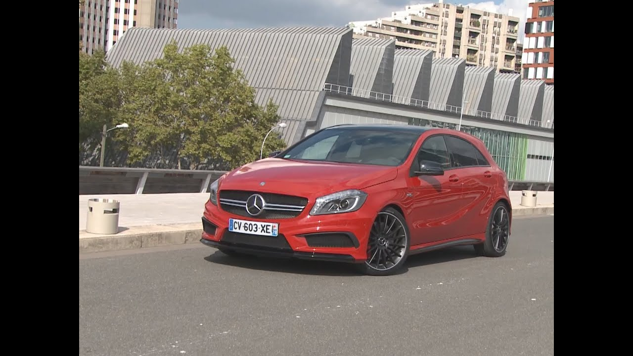 essai mercedes classe a 45 amg 2013 youtube. Black Bedroom Furniture Sets. Home Design Ideas