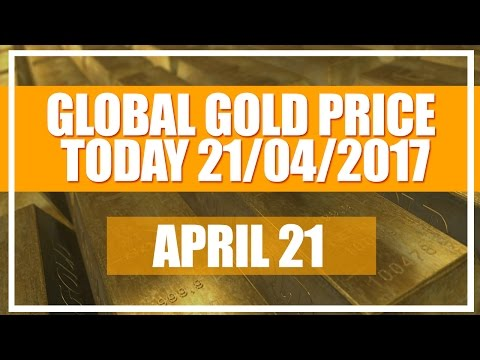 Gold Price today 21/04/2017 | Gold Rate (Apr 21- 09:12 NY Time)