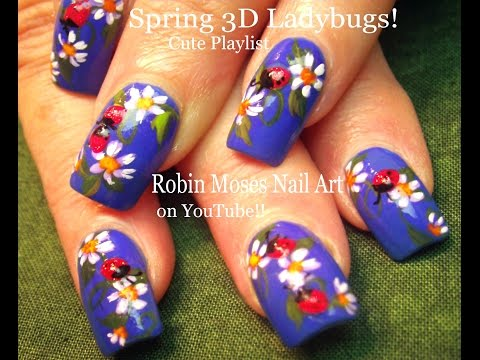 Nail Art Fun Ladybug And