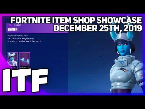 Fortnite Item Shop *NEW* SHIVER SET! [December 25th, 2019] (Fortnite Battle Royale)