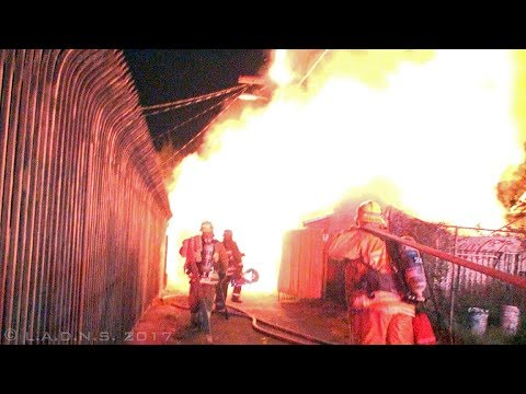 "LAFD / Rubbish, Power Pole, Garage & House Fire / ""Old"" SoLA"