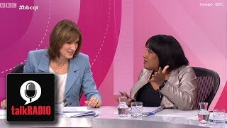 Was Diane Abbott racially abused on BBC's Question Time?