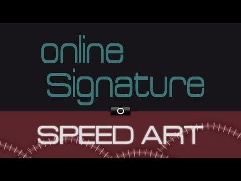 Speed Art 1 | ONLINE GAME FORUM SIGNATURE|