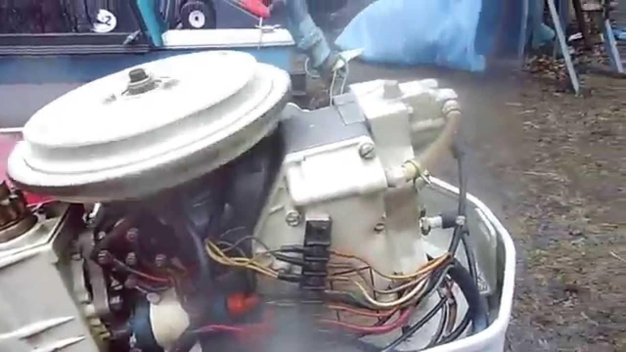 Chrysler 45 Hp Long Shaft Outboard Motor Rebuilt Youtube