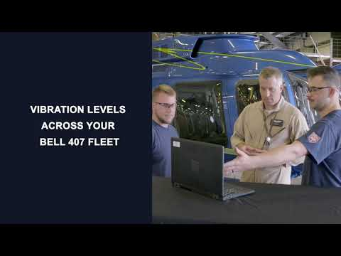 Bell 407: Health and Usage Monitoring System (HUMS)