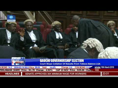Bauchi Election: Court Stops Collation Of Results From Tafawa Balewa LGA