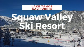 Squaw Valley Ski Resort in California's Lake Tahoe