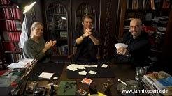 Magie mit Mark Benecke | Der unmögliche blinde Kartentrick | Zauberer Jannik Görtz