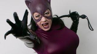 Video BelleChere as CATWOMAN Cosplay at Anime Boston 2014 download MP3, 3GP, MP4, WEBM, AVI, FLV Juli 2018